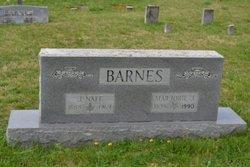 Marjorie J <i>JOHNSTON</i> BARNES