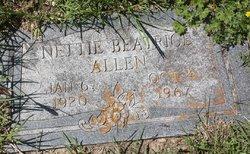 Nettie Beatrice Bea <i>Luce</i> Allen