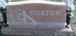 Lydia Frances <i>Aleshire</i> Horton