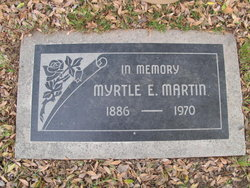 Myrtle Edna Martin