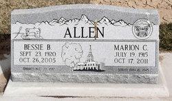 Bessie Bee <i>Champion</i> Allen