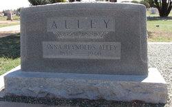 Anna <i>Reynolds</i> Alley