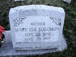 Mary Isa Solomon