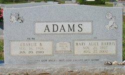 Mary Alice <i>Harris</i> Adams
