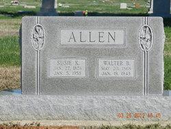 Susie K <i>Keefer</i> Allen
