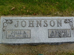Josie Belle <i>Hartley</i> Johnson