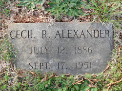 Cecil R. Alexander