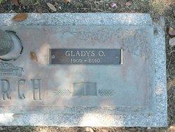 Gladys Olene <i>Compton</i> Burch