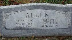 Palesteen <i>Wilson</i> Allen