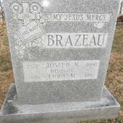 Lura Mary <i>Daniels</i> Brazeau