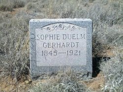 Sophia Louisa Sophie <i>Duelm</i> Gerhardt