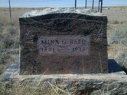 Wilhelmina Mina <i>Gerhardt</i> Reed