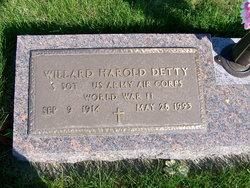 Willard Harold Detty