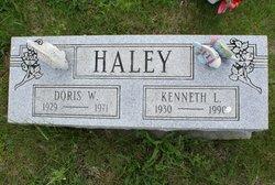 Doris W <i>Liter</i> Haley