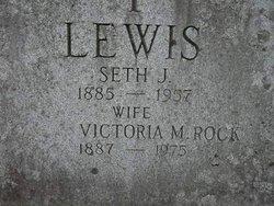 Victoria <i>Rock</i> Lewis