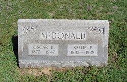 Sallie F McDonald