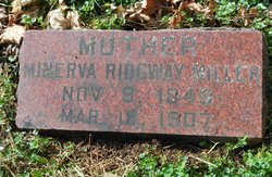 Minerva Eunice <i>Ridgway</i> Miller