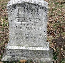 Susan M. <i>Davis</i> Allard