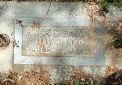 Alice C Baines