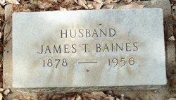 James T Baines