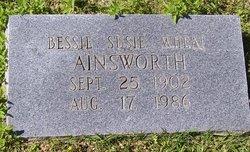 Bessie Susie <i>Wheat</i> Ainsworth