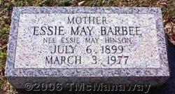 Essie May <i>Hinson</i> Barbee