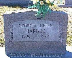 Georgia Helen Barbee
