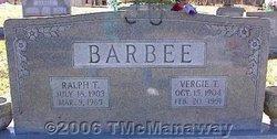 Vergie T. Barbee