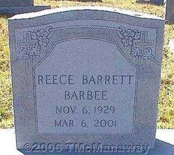 Reece Barrett Barbee
