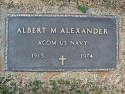 Albert M Alexander