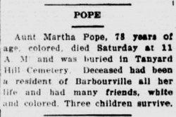 Martha Pope