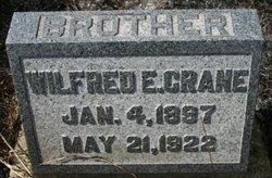 Wilfred E Crane