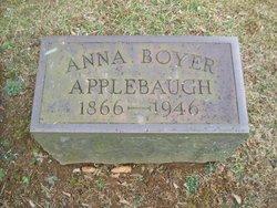 Anna <i>Boyer</i> Applebaugh