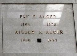 Aileen A Alger