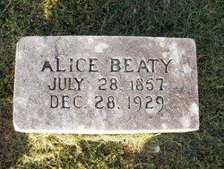 Alice <i>Martin</i> Beaty