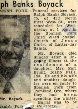 Ralph Banks Boyack