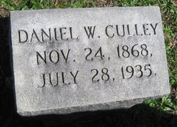 Daniel Webster Culley