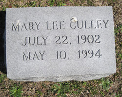 Mary Lee Culley