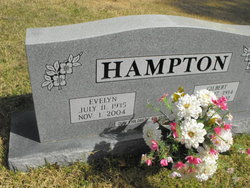 Evelyn <i>Hicks</i> Hampton