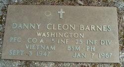 PFC Danny Cleon Barnes
