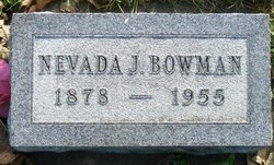 Nevada Jane <i>Hansel</i> Bowman