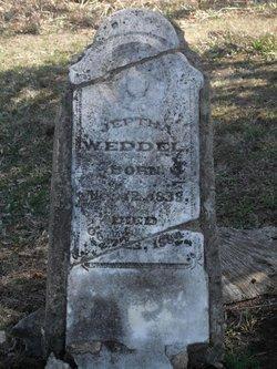 Jeptha Weddel