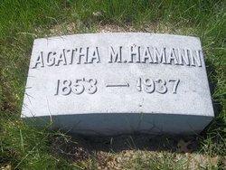 Agatha Marina <i>Stahl</i> Hamann