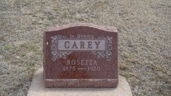 Rosetta <i>Bolender</i> Carey