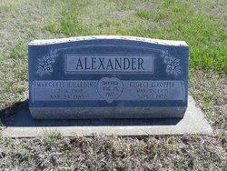 Margaret H <i>Harding</i> Alexander