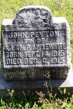 John Peyton Applewhite