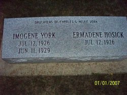 Ermadene Erma <i>York</i> Hosick