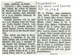 Amelia Viola Melia <i>Barnhill</i> Alford