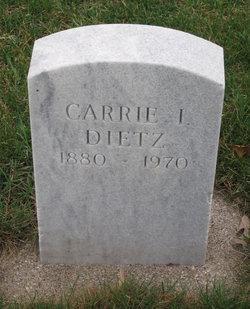 Carrie I Dietz