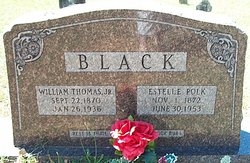 Estelle A <i>Polk</i> Black